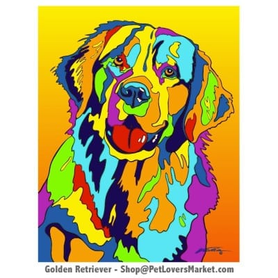 Golden Retriever Painting for Sale.