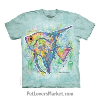 Dean Russo T-Shirts: Fish T-Shirt