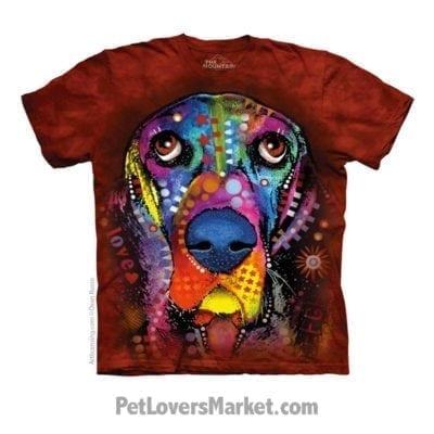 Dean Russo T-Shirts: Basset Hound T-Shirt