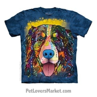 Dean Russo T-Shirts: Bernese Mountain Dog T-shirt