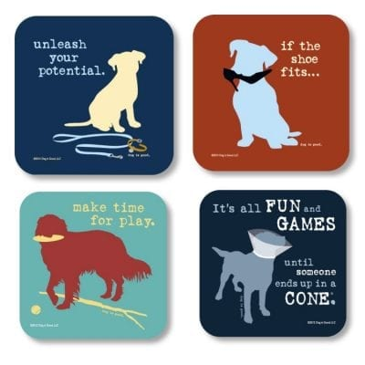 Dog Decor Coasters