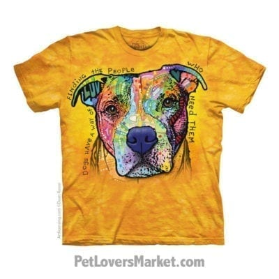 Dean Russo T-shirts with Dog Quotes: Dogs Have a Way