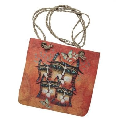 Totes - Making A Difference Crossbody Handbag by Albena (Gifts for Cat Lovers)
