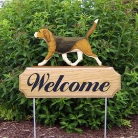 Dog Signs / Welcome Signs: Beagle Dog Sign
