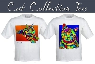 Michael Vistia -- Cat Tees