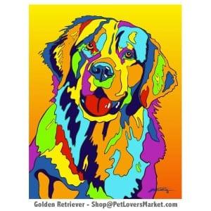 Golden Retriever Painting for Sale.