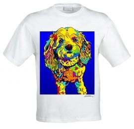 Michael Vistia -- Dog Tees
