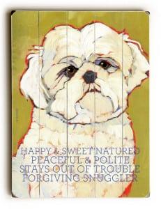 Maltese: Dog Print