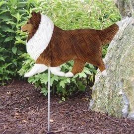 Shetland Sheepdog Statue: Dog Statues & Garden Statues