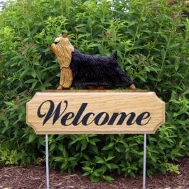 Welcome Garden Stake: Yorkshire Terrier