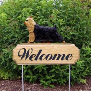 Welcome Garden Stake: Yorkshire Terrier