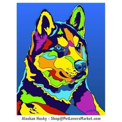 Husky Painting / Husky Pictures for Sale