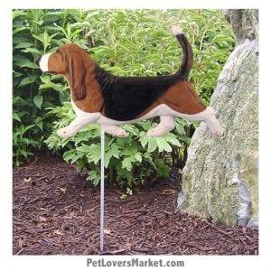 Dog Statues / Garden Statues: Basset Hound Statue. Basset Hound Gifts.