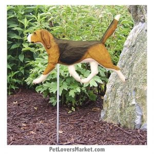 Beagle Statue: Dog Statues, Garden Statues, Beagle Gifts