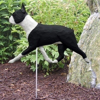 Boston Terrier Statue: Dog Statues and Garden Statues
