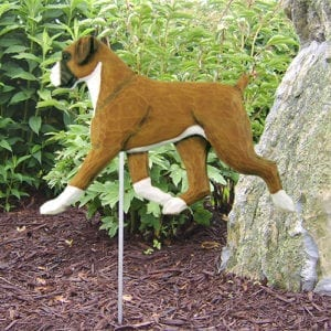 Attirant Boxer Dog Statue: Dog Statues And Garden Statues