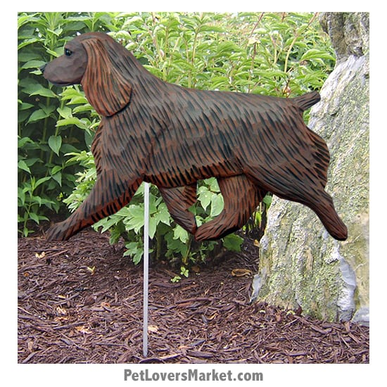 Boykin Spaniel Dog Sign / Yard Sign / Garden Stake. Garden Accents and Gifts for Dog Lovers. Perfect for Home and Garden Decor. Part of our collection of yard signs and garden accents -- with dog breeds. Also use for outdoor accents, unique garden statues, garden statues online, best garden decor, garden stake decor, decorative garden stake, outdoor home accents, unique garden decor, outdoor home decor. Features Boykin Spaniel dog breed.