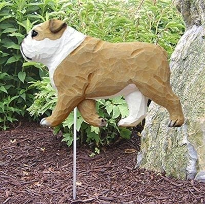 Bulldog Statue (Tan): Dog Statues and Garden Statues
