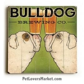 Bulldog Brewing: Vintage Beer Ads with Vintage Dogs