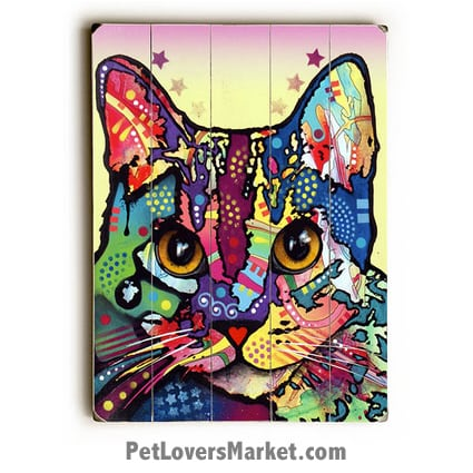 Maya Cat by Dean Russo (Dean Russo Cat Art)