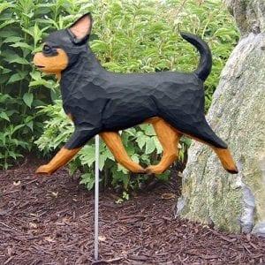 Chihuahua Statue (Black Tan)