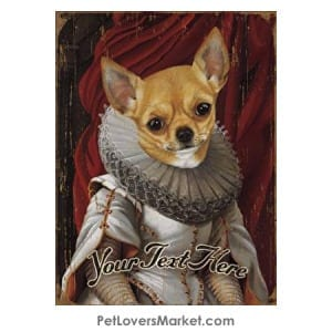 Chihuahua Art - Personalized Dog Gifts & Gifts for Dog Lovers