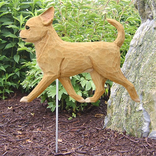 Chihuahua Statue (Fawn): Dog Statues And Garden Statues