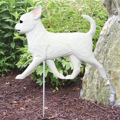Chihuahua Statue (White)