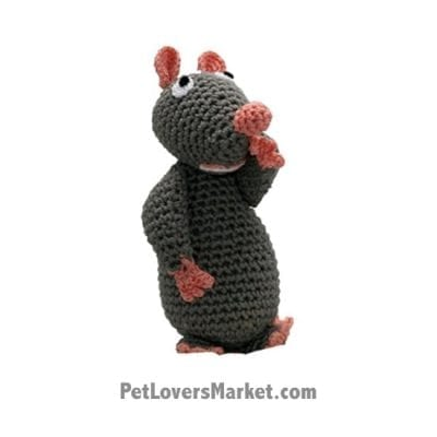 Mouse: Crochet Dog Toys, Organic Dog Toys, Dog Teeth Cleaning, Organic Cotton, Dog Toys, Cool Dog Toys, Hip Doggie