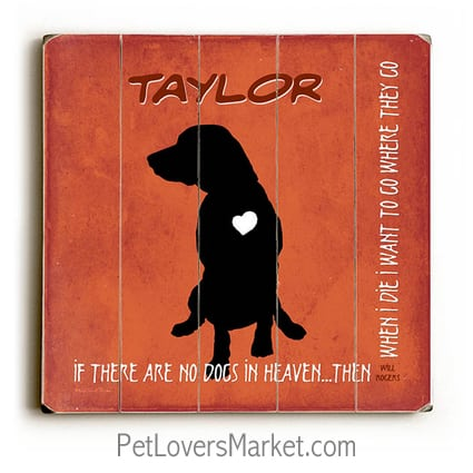 personalized dog gifts pet memorials if there are no dogs in