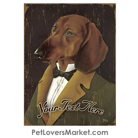 Dachshund Art - Personalized Dog Gifts