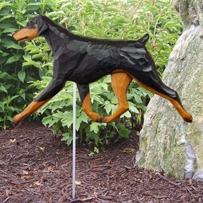 Doberman Statue: Dog Statues and Garden Statues