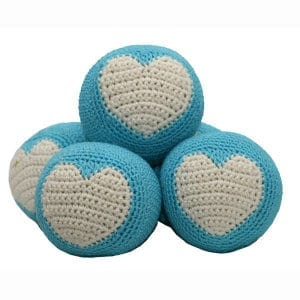Dog Balls: Crochet Dog Toys, Organic, Cool Dog Toys, Dog Teeth Cleaning