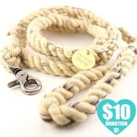 Dog Leash: Vintage Rope Dog Leash