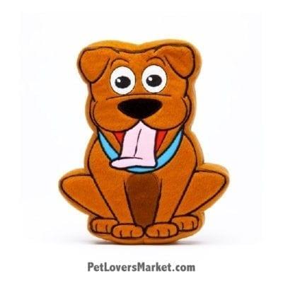 Dog Squeaky Toy: Cooper, Dog PrideBite dog toy.