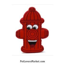 Dog Squeaky Toy: Fire Hydrant