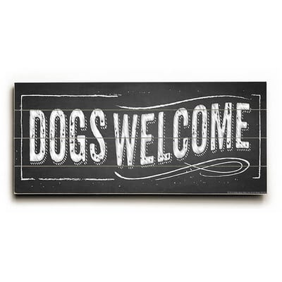 dogs welcome / dog welcome
