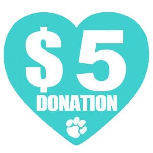 $5 Donation to Animal Rescues
