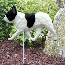 French Bulldog Statue (Black/White)