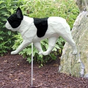 French Bulldog Statue (Black/White)
