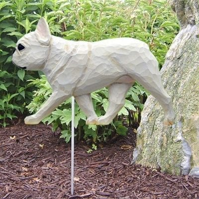French Bulldog Statue (White)