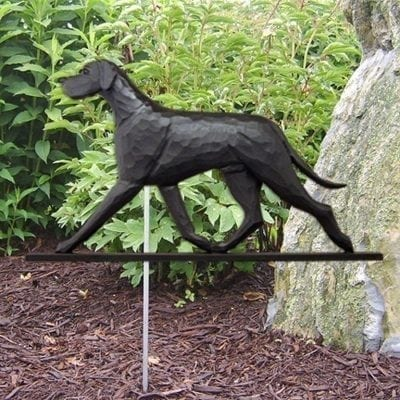 Great Dane Statue (Black): Dog Statues and Garden Statues