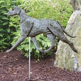 Great Dane Statue (Blue): Dog Statues and Garden Statue