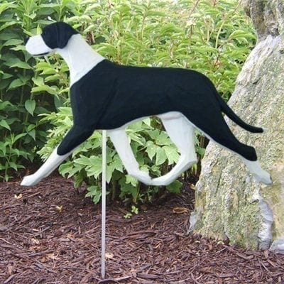 Great Dane Statue (Harlequin): Dog Statues and Garden Statues