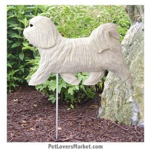 Havanese Statue: Dog Statues and Garden Statues