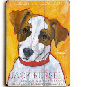 Dog Painting: Jack Russell Pictures. Jack Russell Terrier. Wooden Sign. Dog Print. Dog Art. Dog Sign. Gifts for Jack Russell Lovers.