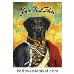 Black Lab Art - Personalized Dog Gifts & Gifts for Dog Lovers