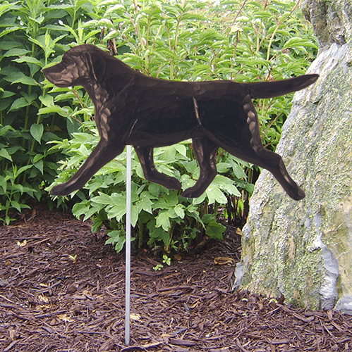 Black Lab Statue / Labrador Statue. Dog Statues and Garden Statues