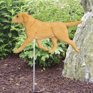 Labrador Statue / Yellow Lab Statue. Dog Statues and Garden Statues