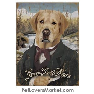 Labrador Retriever Art - Personalized Dog Gifts & Gifts for Dog Lovers